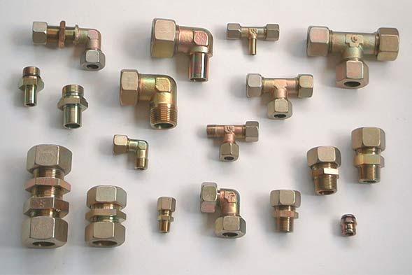 Raccordi ad anello tagliente Cast per alta pressione