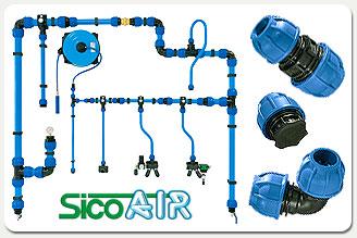 Impianti distribuzione aria